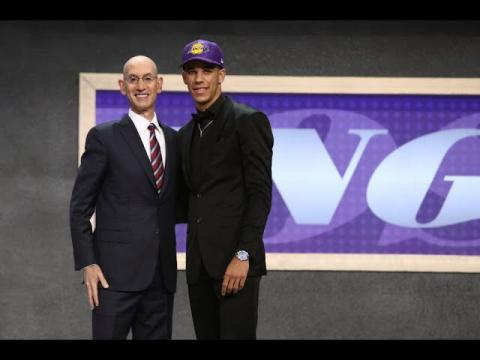 Lonzo Ball Drafted 2nd Overall By Los Angeles Lakers In 2017 NBA Draft