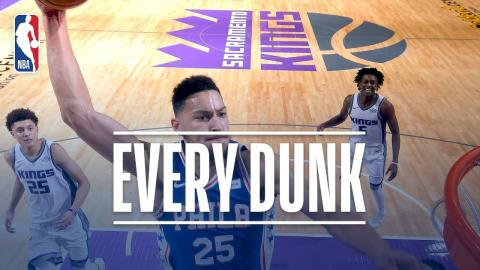 John Wall, Ben Simmons, and Every Dunk From Thursday Night | November 9, 2017