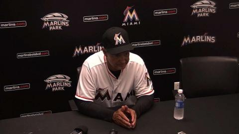 WSH@MIA: Mattingly discusses low energy level in loss
