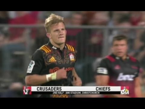 Crusaders vs Chiefs TOP 3 Players  | Super rugby 2016
