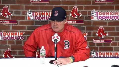 SEA@BOS: Farrell talks Rodriguez's progression
