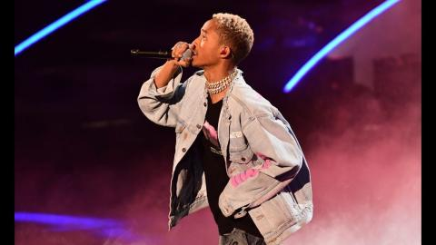 Jaden Smith Mountain Dew Kickstart Rising Stars Halftime Performance