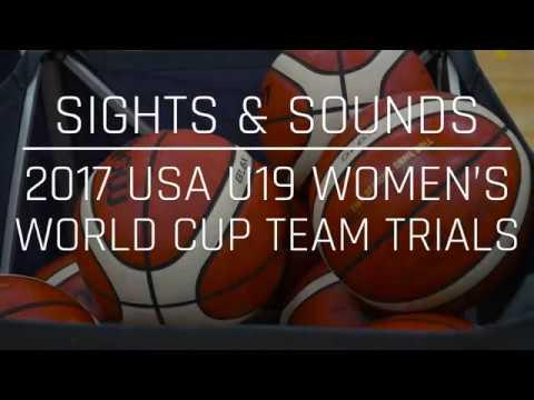 Sights & Sounds: 2017 USA Basketball WU19 World Cup Team trials