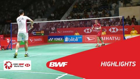 DAIHATSU Indonesia Masters 2018 | Badminton MS - QF - Highlights | BWF 2018