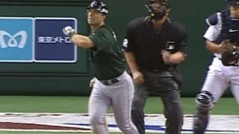 NYY@TB: Tino Martinez hits home run No. 300