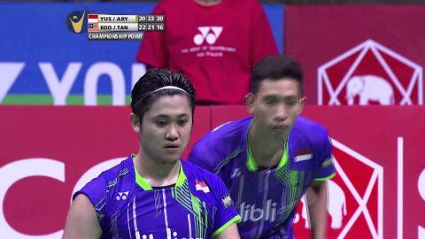SCG Thailand Open 2015 | Badminton F – Highlights