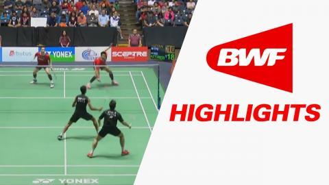 Yonex US Open 2017 | Badminton SF – Highlights