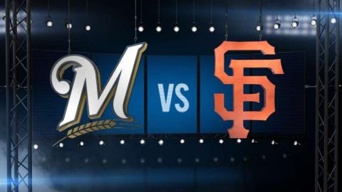 7/29/15: Giants break out for a five-run 7th in win