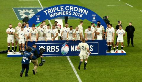 Triple Crown celebrations as England beat Wales! | RBS 6 Nations