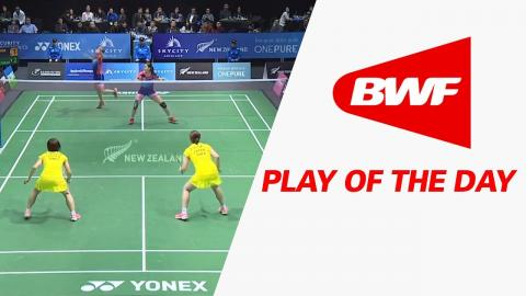 Play Of The Day | Badminton F - SKYCITY New Zealand Open 2017