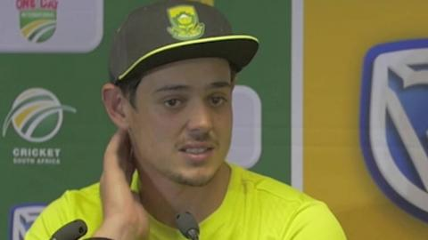 De Kock leads Proteas to famous victory