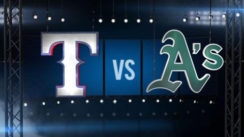 6/9/15: Rangers ride Martinez's gem and hold on late