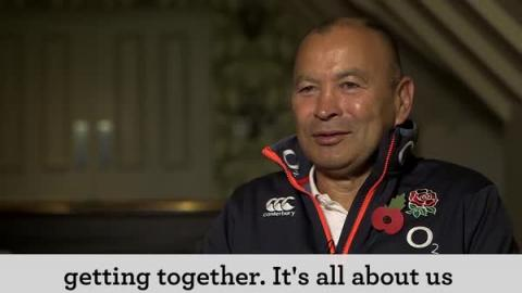 Eddie Jones on squad selection for South Africa