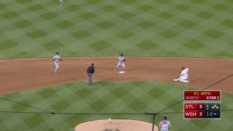 STL@WSH: Wainwright escapes bases-loaded jam with DP