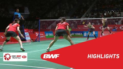 DAIHATSU Indonesia Masters 2018 | Badminton WD - SF - Highlights | BWF 2018