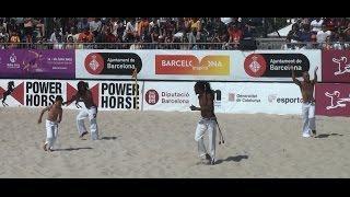 Capoeira | Barcelona Beach Soccer Cup 2015