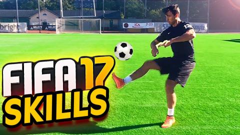 FIFA 17 SKILLS in REAL-LIFE