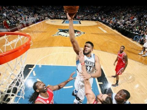 Karl-Anthony Towns Puts Up 41 and 15 | 12.17.16