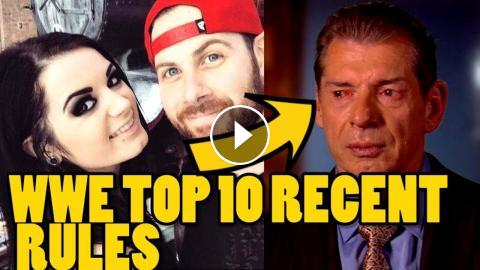 Top 10 Recent Rules WWE Wrestlers Have To Follow in 2018