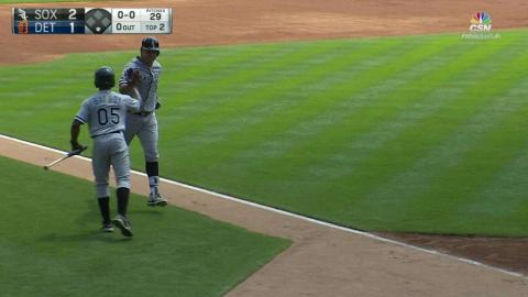 CWS@DET: A. Garcia's puts White Sox up with solo jack
