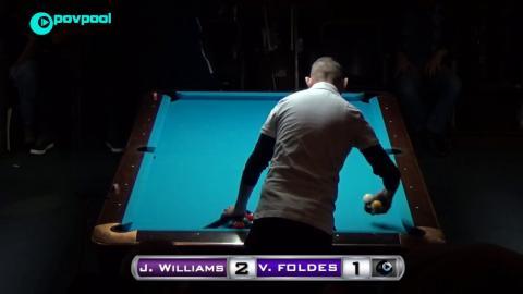 #3 • Vilmos FOLDES vs Jason WILLIAMS • 48th Terry Stonier 9-Ball