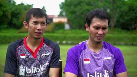 Badminton Unlimited | Mohammad Ahsan and Rian Agung Saputro – Men's Doubles (Indonesia)