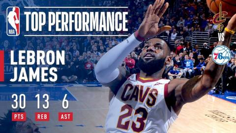 LeBron James Leads Cavs to Victory | November 27, 2017