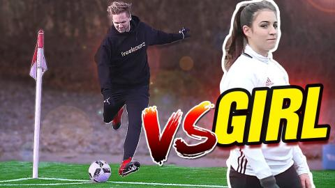 ULTIMATE CORNER CHALLENGE (FK ⚽ VS. GIRL