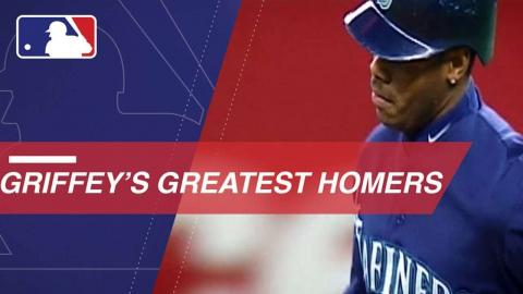 Ken Griffey Jr.'s most iconic home runs