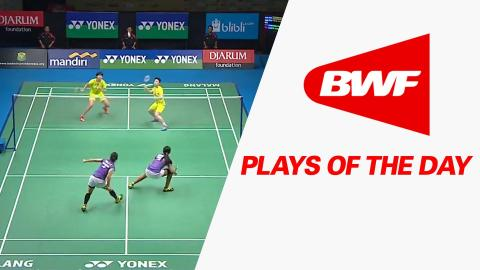 Play Of The Day | Badminton F – Yonex Sunrise Indonesian Masters 2015