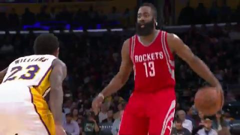James Harden Drops 31 in Three Quarters