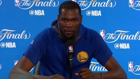 Kevin Durant NBA Finals Media Day #1 Press Conference | 2017 NBA Finals