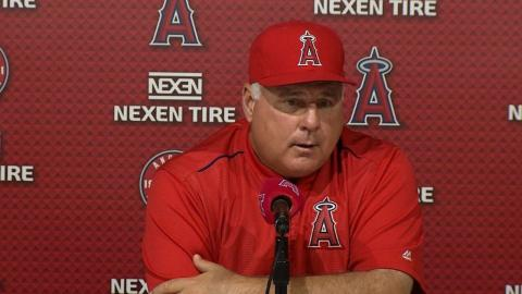 SEA@LAA: Scioscia on playing better after 3-2 loss