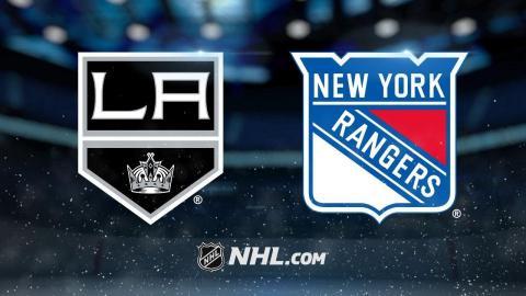 Nash, Rangers take down Kings, 4-2