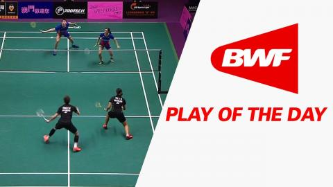 Play Of The Day   Badminton SF - Macau Open 2016