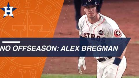 Astros' Alex Bregman on World Series run, offseason training and family