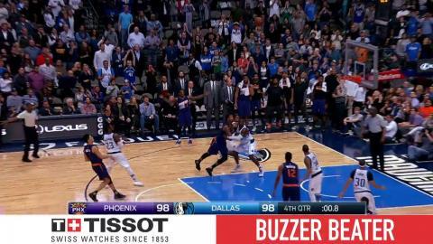 Tissot Buzzer Beater: Devin Booker's Jumper Gives Suns Win   03.11.17