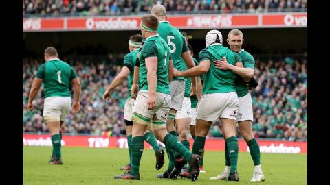 Rory Best scores after breaking away from Irish maul! | NatWest 6 Nations