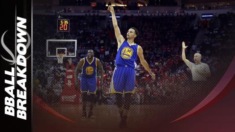 Steph Curry Drops 40 As Warriors Take 3-0 Lead Over Rockets