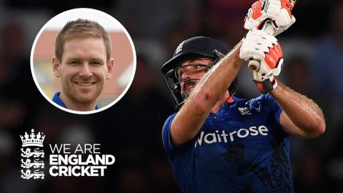 Eoin Morgan on...Liam Plunkett last ball six to tie Trent Bridge ODI