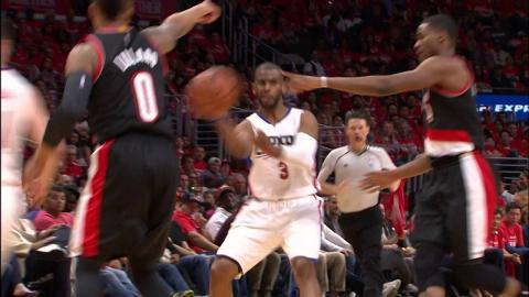 Clippers Rack Up 3 Big Dunks in Win Over Trail Blazers