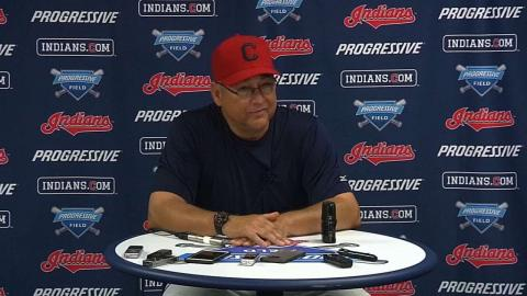 NYY@CLE: Francona discusses the 2-1 loss to the Yanks