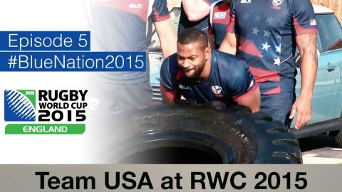 Team USA at Rugby World Cup - Episode 5 - LONDON CALLING