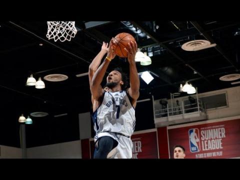 Highlights: Washington Wizards vs Memphis Grizzlies from MGM Resorts NBA Summer League | 07.08.17