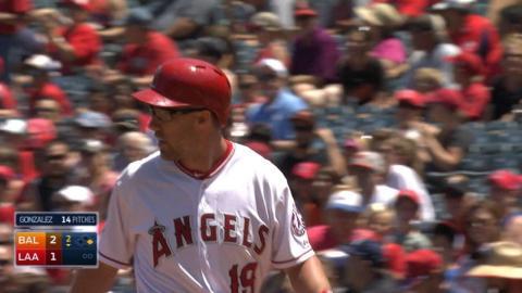 BAL@LAA: Murphy hits 100th homer, walks off Angels