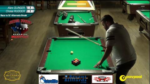 FINALS • 8ball/9Ball • J. GRAY v W. KIAMCO and A. OLINGER vs C. RUDDER