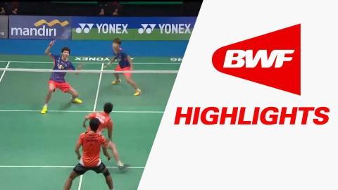 Yonex Sunrise Indonesian Masters 2015 | Badminton SF – Highlights
