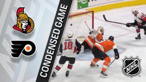 02/03/18 Condensed Game: Senators @ Flyers