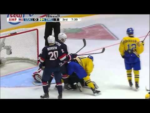 Highlights from Team USA's 1-0 loss to Sweden at 2016 IIHF World Junior Championship