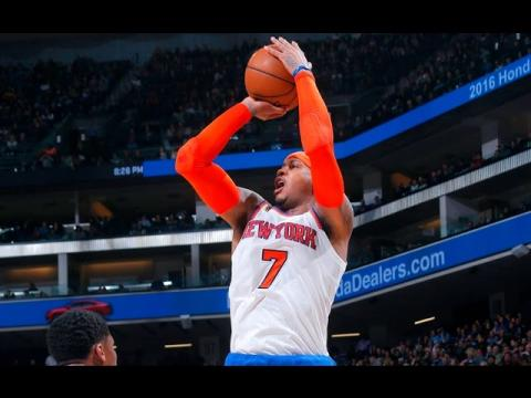 Melo's 33 Leads Knicks Past Kings | 12.09.16